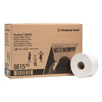 Click for a bigger picture.Kimberly Clark 8615 Hostess Mini Jumbo Toilet Roll 200m