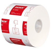 Click for a bigger picture.Katrin 103424 System Toilet Roll 2Ply 800 Sheet Classic Eco