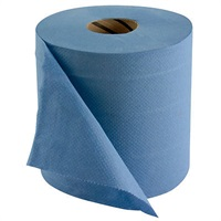 Click for a bigger picture.Wiper Rolls 2Ply Blue Basic MB28