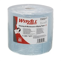 Click for a bigger picture.Kimberly Clark 7300 Wypall L30 Blue Roll 2Ply