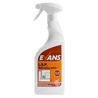 Click for a bigger picture.Evans L.S.P Multi Surface Polish 750ML