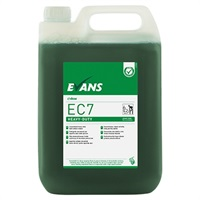 Click for a bigger picture.Evans EC7 Green Zone 5LTR H/Duty Cleaner