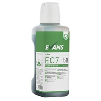 Click for a bigger picture.xx Evans EC7 Green Zone 1Lt H/Duty Cleaner - C/W Dosing Cap (Single Bottle)