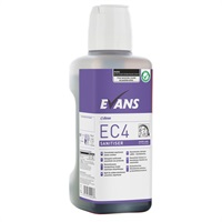 Click for a bigger picture.xx Evans EC4 Purple Zone 1LTR Sanitiser C/W Dosing Cap (Single Bottle)