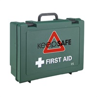 Click for a bigger picture.xx Standard 10 First Aid Kit