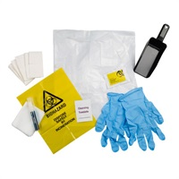 Click for a bigger picture.xx Biohazard / Body Spillage Clean Up Kit Single Application