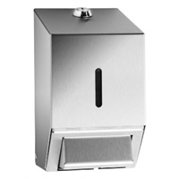 Click for a bigger picture.Brushed Stainless Steel Soap Dispenser 500ML