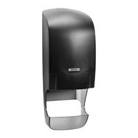 Click for a bigger picture.Katrin System Toilet Roll Dispenser Black 92049 With Core Catcher
